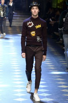 Dolce and Gabbana Menswear Fall/Winter 2018 para Milan Fashion Week | El Blog De Akío