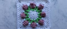 [Video Tutorial] Cute Little Flower Bud Granny Square To Brighten Your Winter