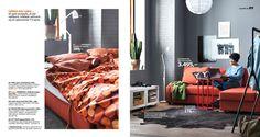 IKEA Quality furniture at affordable prices. Home Interior, Living Room Interior, Ikea Catalogue 2016, Interior Design Courses Online, Ikea Usa, Tiny House Design, Quality Furniture, Sofa Bed, Home Furniture