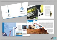 İLCİ İnşaat Katalog Tasarımı / Catalogue Design for İlci Construction Industry #ilci #catalogue #graphicdesign Construction, Graphic Design, Creative, Building, Visual Communication