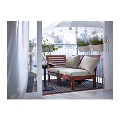 ÄPPLARÖ / HÅLLÖ 2:n istuttava sohva ulkokäyttöön  - IKEA