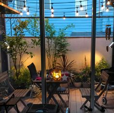 Outdoor Rooms, Outdoor Living, Outdoor Decor, Outdoor Patios, Outdoor Kitchens, Balcony Railing Design, Patio Design, Interior Balcony, Interior And Exterior