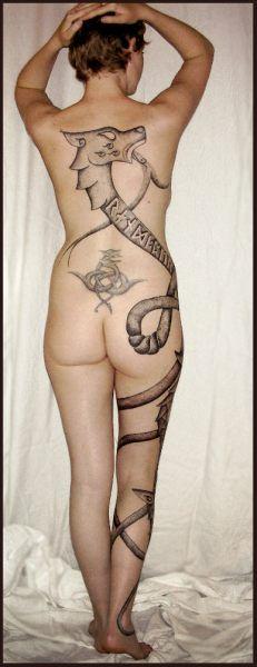 111 best tattoos i like images on pinterest tattoo ideas for Neo pagan tattoos