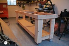 Hey there! Join us on Instagram and Pinterest to keep up with our most recent projects and sneak peeks! Check out our new how-to videos on YouTube! Make sure to subscribe to our channel so you don't miss any! Hey guys! I am so excited about the workbench I built for the shop in my …