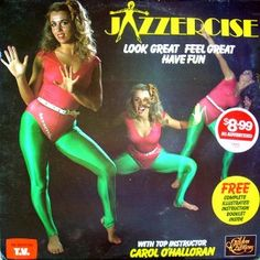 JAZZERCISE. I love this outfit.