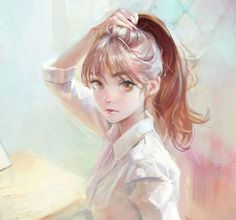 Shared by Danya Bilhaj. Find images and videos about art, anime and anime girl on We Heart It - the app to get lost in what you love. Cool Anime Girl, Pretty Anime Girl, Beautiful Anime Girl, Kawaii Anime Girl, Anime Art Girl, Anime Girls, Manga Girl, Manga Anime, Fanarts Anime
