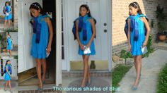Preteen: The various shades of Blue