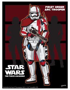 In honor of The Force Awakens here is my take of what a Arc Trooper may look like in the First Order Arc Trooper Star Wars Pictures, Star Wars Images, Star Wars Rpg, Star Wars Clone Wars, Star Trek, Starwars, Star Wars Sequel Trilogy, First Order, Love Stars