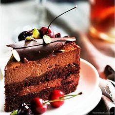 There is nothing as comforting as a good ol' chocolate cake!