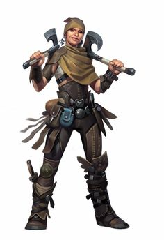 the art of Eric Belisle: Revisited Pathfinder Characters from 5 years ago