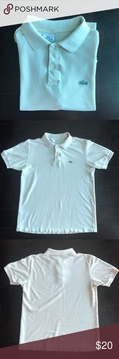 Vintage Lacoste Polo Great condition Lacoste Polo (Size 6) , no tears Lacoste Shirts Polos
