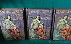 Libros antiguos: GEOGRAFIA GENERAL DEL REINO DE VALENCIA. CARRERAS Y CANDI. ED. MARTIN. 1920-1927 - 5 TOMOS - - Foto 3 - 54612333