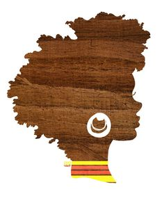Black woman afro Silhouette Fall Inspired Brown Woodland by thepairabirds Natural Hair Art, Natural Hair Care Tips, Pelo Natural, Natural Hair Journey, Natural Hair Styles, Natural Beauty, African American Art, African Art, African Drawings