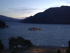 View from Hotel St Moritz #Queenstown