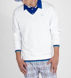 f5b3a345851 V-Neck Golf Sweater by Puma.  80