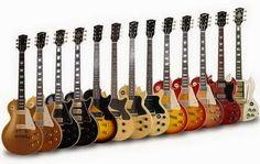 """CLASES DE GUITARRA: """"Colección de guitarras GIBSON"""""""