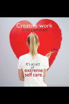 Creativity is self care