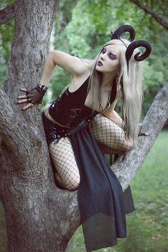 Gothic Ram Girl