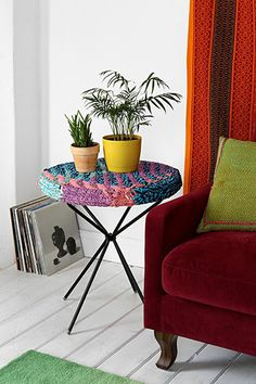 Under-$100 Furniture We Know You'll Dig #refinery29 boho side table UO  http://www.refinery29.com/cheap-furniture#slide1