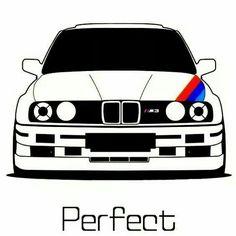 Bmw E30 M3, Bmw Alpina, Bmw M Series, Cool Car Drawings, Automobile, Bmw Wallpapers, Nissan Gtr Skyline, Bmw Love, Car Illustration
