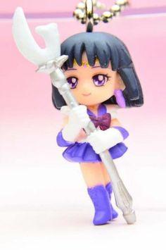 Sailor Moon Saturn Keychain Bandai | eBay