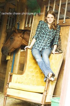 a senior and her horse barn Jackie senior picture idea for you:)