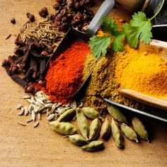 Visit Your Spice Rack: The health benefits of Tumeric, Cinnamon, Cayenne Pepper and Saffron.