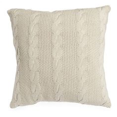 Cable Knit cushion from Wilko.com | Traditional cushions | PHOTO GALLERY | 25 Beautiful Homes | Housetohome.co.uk