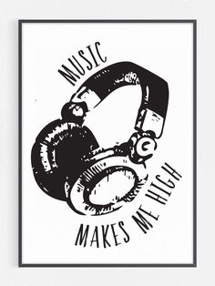 Who needs drugs these days? You have music!