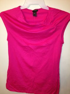 Top Ann Taylor Loft Bright Pink- Size S (Small)  $21.99