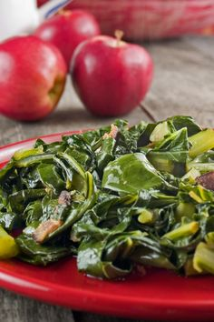 Collard Greens with Bacon #Recipe
