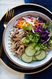 http://www.skinnytaste.com/slow-cooker-banh-mi-rice-bowls/