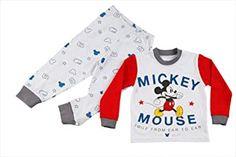 Mickey Mouse, Kids Fashion, Boys, Women, Pajama Set, Guys, Cotton, Kids, Baby Boys