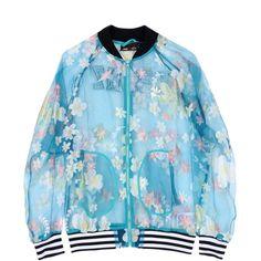 Adidas Originals By Pharrell Williams Jacket ($140) ❤ liked on Polyvore featuring outerwear, jackets, turquoise, zip jacket, multi pocket jacket, bomber jacket, blue bomber jacket and chiffon bomber jacket