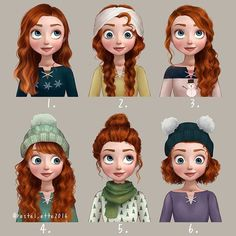 Disney Hairstyles Disney Princesses Get New Hairstyles And Outfits  Delightful Disney