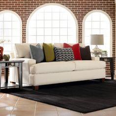 Hero 2 Seat Queen Sleeper Sofa In Solo Natural  Klaussner Furniture