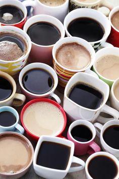 Ah, coffee, coffee and more #coffee!