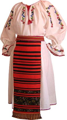 Folk Embroidery, Embroidery Designs, Folk Costume, Costumes, Embroidery Techniques, High Waisted Skirt, Moldova, Traditional, Knitting