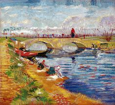 Gleize Bridge over the Vigueirat Canal, Vincent van Gogh 1888