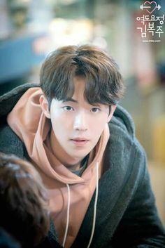 ", No thanks I'd rather fall asleep"" "" Mens are luxur… Fanfiction Kim Joo Hyuk, Nam Joo Hyuk Cute, Nam Joo Hyuk Lee Sung Kyung, Jong Hyuk, Lee Hyun Woo, Asian Actors, Korean Actresses, Korean Actors, Korean Dramas"