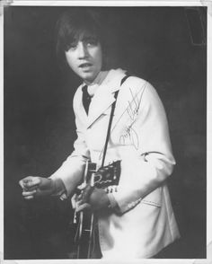 Tony Hicks of the Hollies (a fabulous and very underrated guitarist)