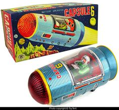 Capsule 6 space toy