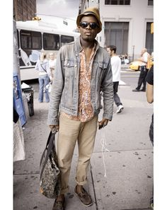 New York Street Style Fashion Photos from Ben Ferrari: Style: GQ