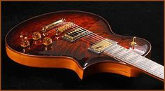 Custom 'n' Boutique Guitars Gallery: Artinger Singlecut Chambered Solid