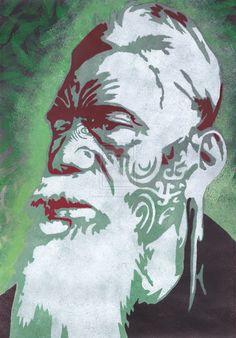Maori Chief by HelenParkinson on deviantART
