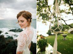 Retro Tropical Hawaii Wedding : Bajan Wed -- Bliss Wedding Design & Spectacular Events + Anna Kim Photography