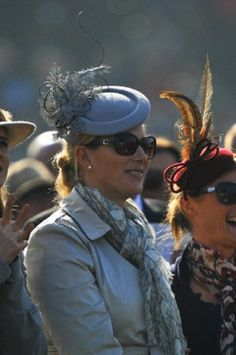Zara Phillips Tindall's day out with the girls on Gold Cup Day at the Cheltenham Festival 2014