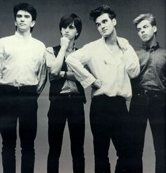 The Smiths <3 Thank you Morrisssey for being so different.