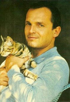 Miguel Bosé, Panamanian-born Spanish pop new wave musician and actor.