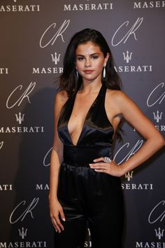 When she dominated in this sassy jumpsuit: | 13 Times Selena Gomez Slayed The Red Carpet